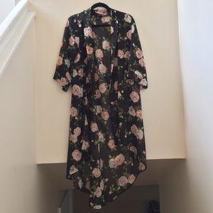 Floral Kimono (Forever 21)